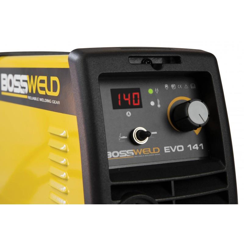 Bossweld Evo 141 Digital Inverter Welder (Video)