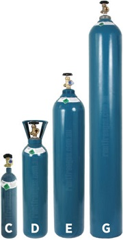 Welding Gas Cylinders - New / Exchange